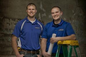 Matt Carlson and Chris Fox, co-owners, Fox Home Innovations