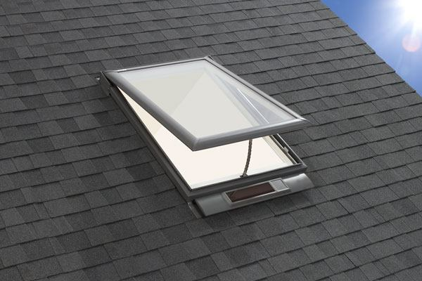 Product velux solar powered fresh air skylight builder for Velux skylight remote control manual