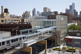 CTA Morgan Station