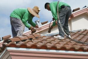 Reroofing With Concrete Tile