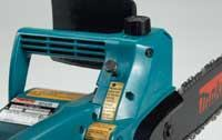 The manual oiler button on the older Makita provides a measure of control not found on the others, but you must remember to use it.