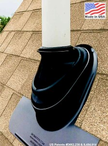 The Ultimate Pipe Flashing is guaranteed for the life of the roof.
