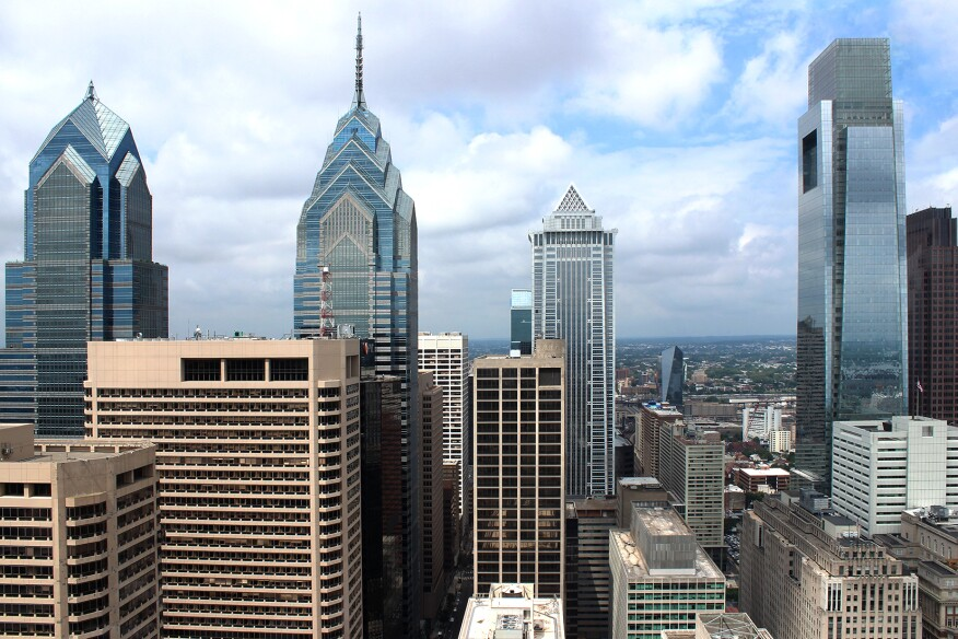 Philadelphia's downtown skyline