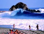 According to the U.S. EPA, the nation's beaches were safe for swimming 96% of the time in 2005. Photo: Laguna Beach, Calif., CVB