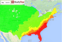 Hurricane Risk Heat-Map, and the Value of Real Estate