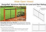 DesignRail®Rail Kits Brochure (Install between wood posts)
