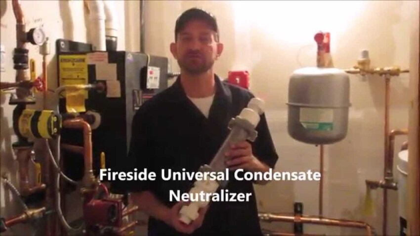 Installing a Condensate Neutralizer