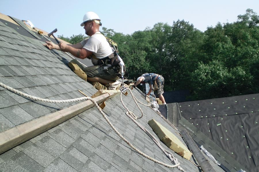 Fall Protection For Roof Work Jlc Online Osha Safety