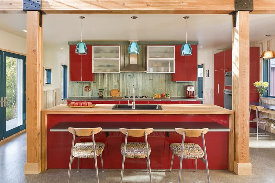The red cottage kitchen builder magazine design kitchen energy efficiency minnesota - Commercial exterior painting style ...