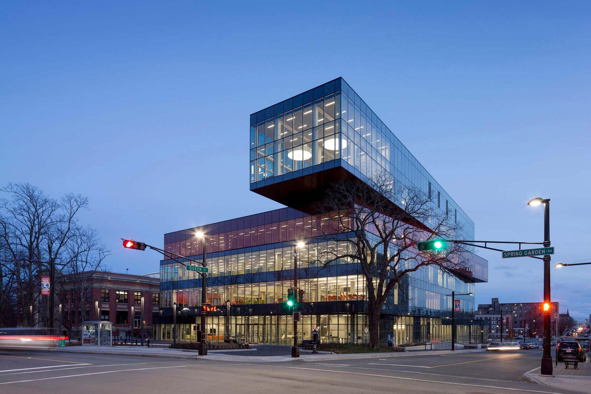 Top Ten Architects Halifax Central Library Architect Magazine Schmidt