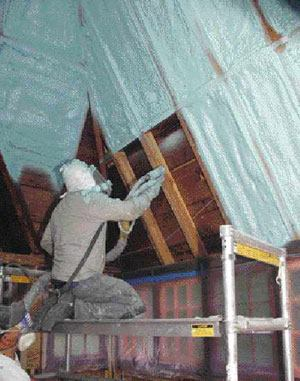 Insulating Unvented Attics With Spray Foam Jlc Online Insulation Building Envelope Hvac Roofing Moisture Barriers Building Materials