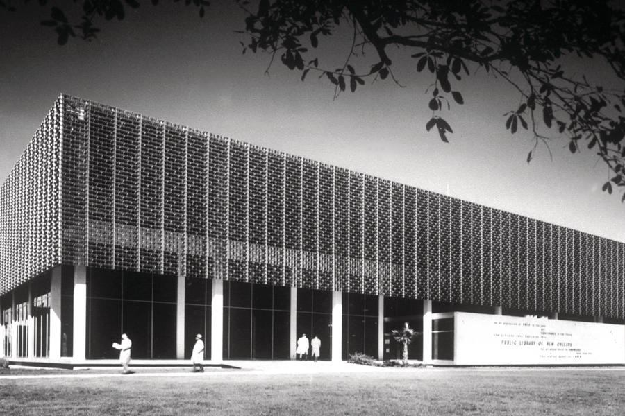 Past progressives the new orleans 39 s main library a look for Metairie architects