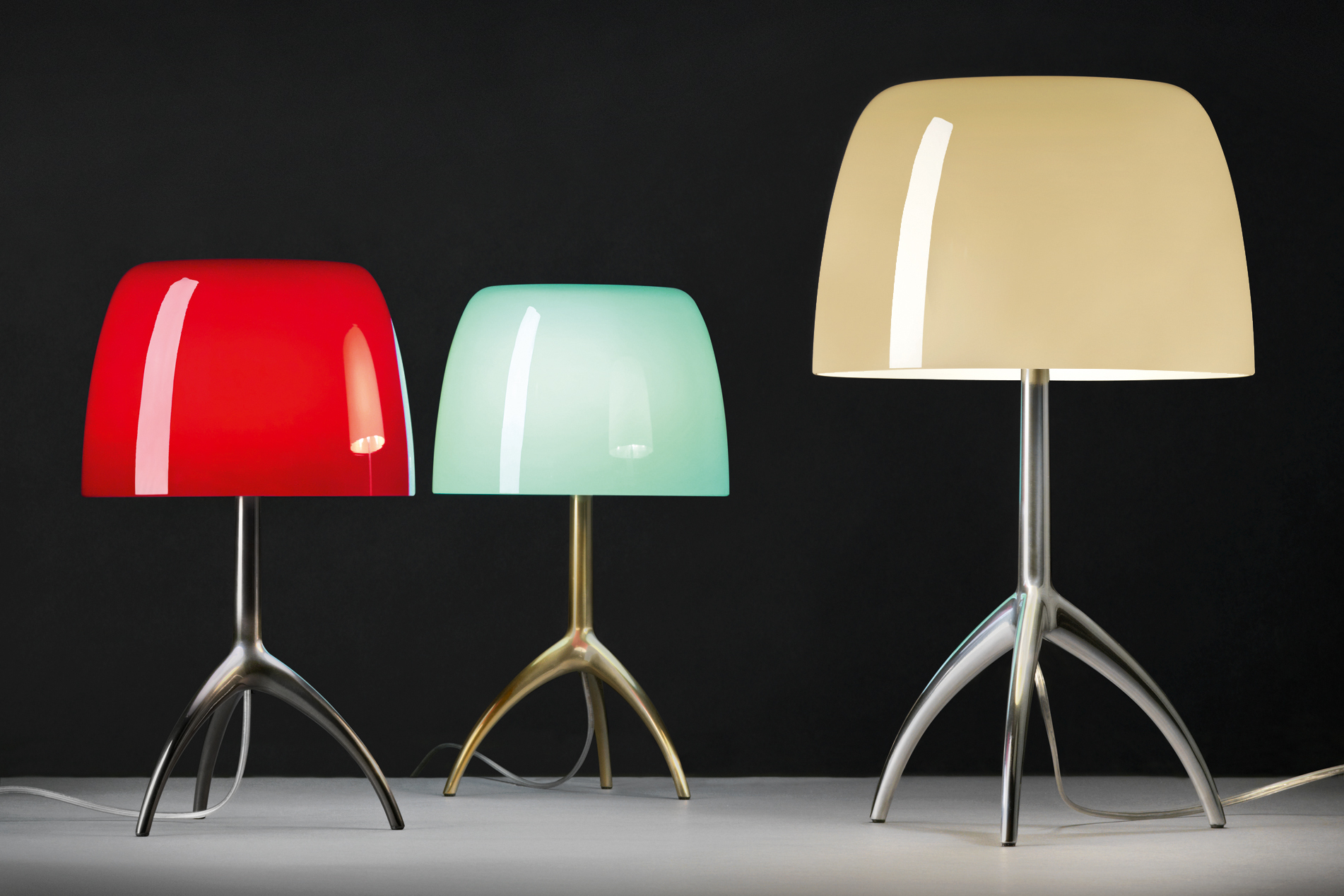 Foscarini Celebrates 25 Years Of The Lumiere Table Lamp