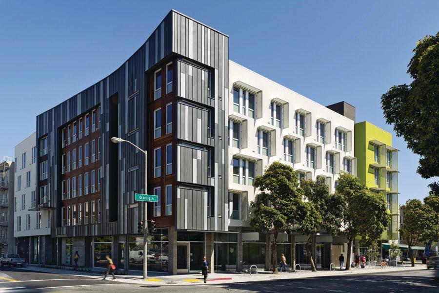 Drs Julian And Raye Richardson Apartments Architect