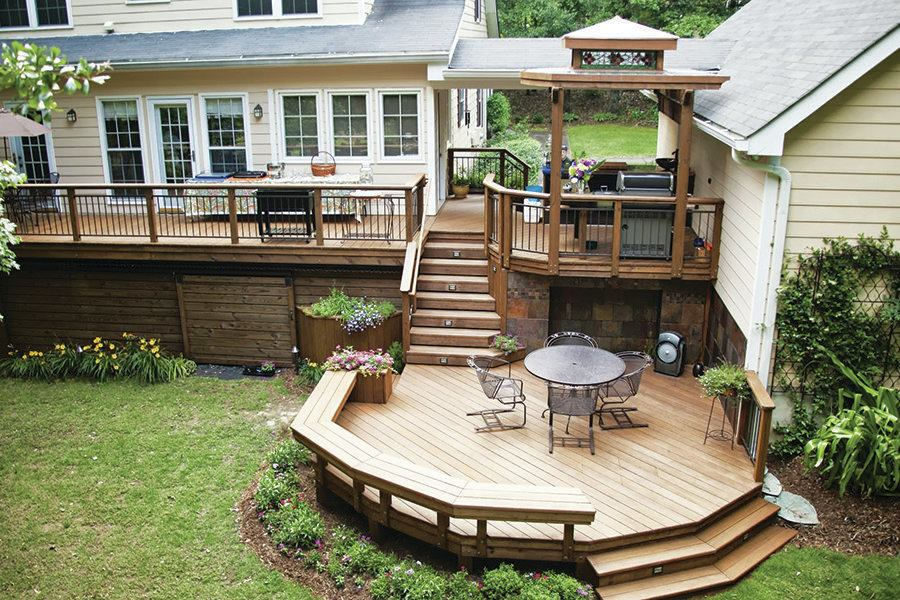 Wood Decks That Last Professional Deck Builder Lumber