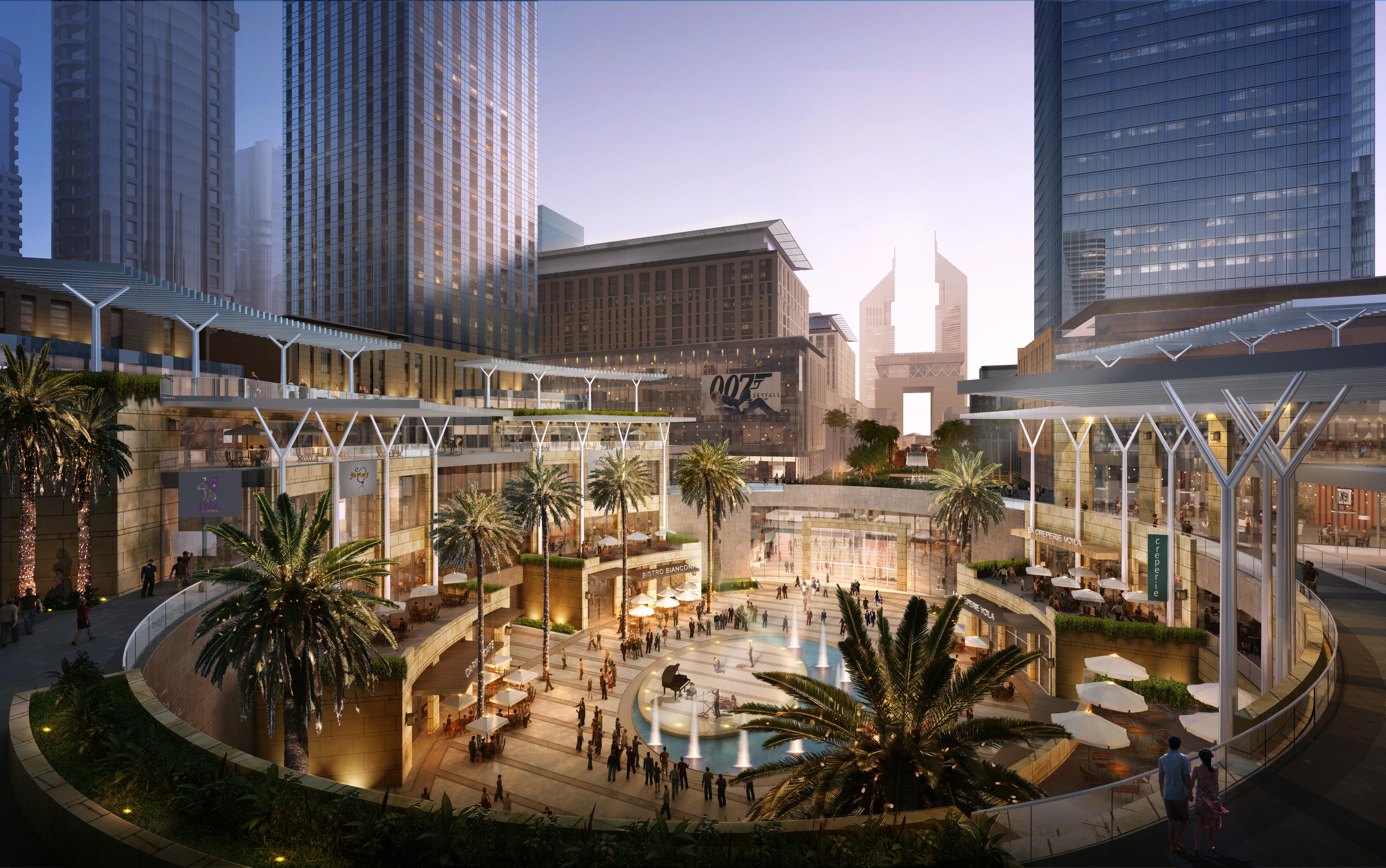 Dubai International Financial Center Architect Magazine