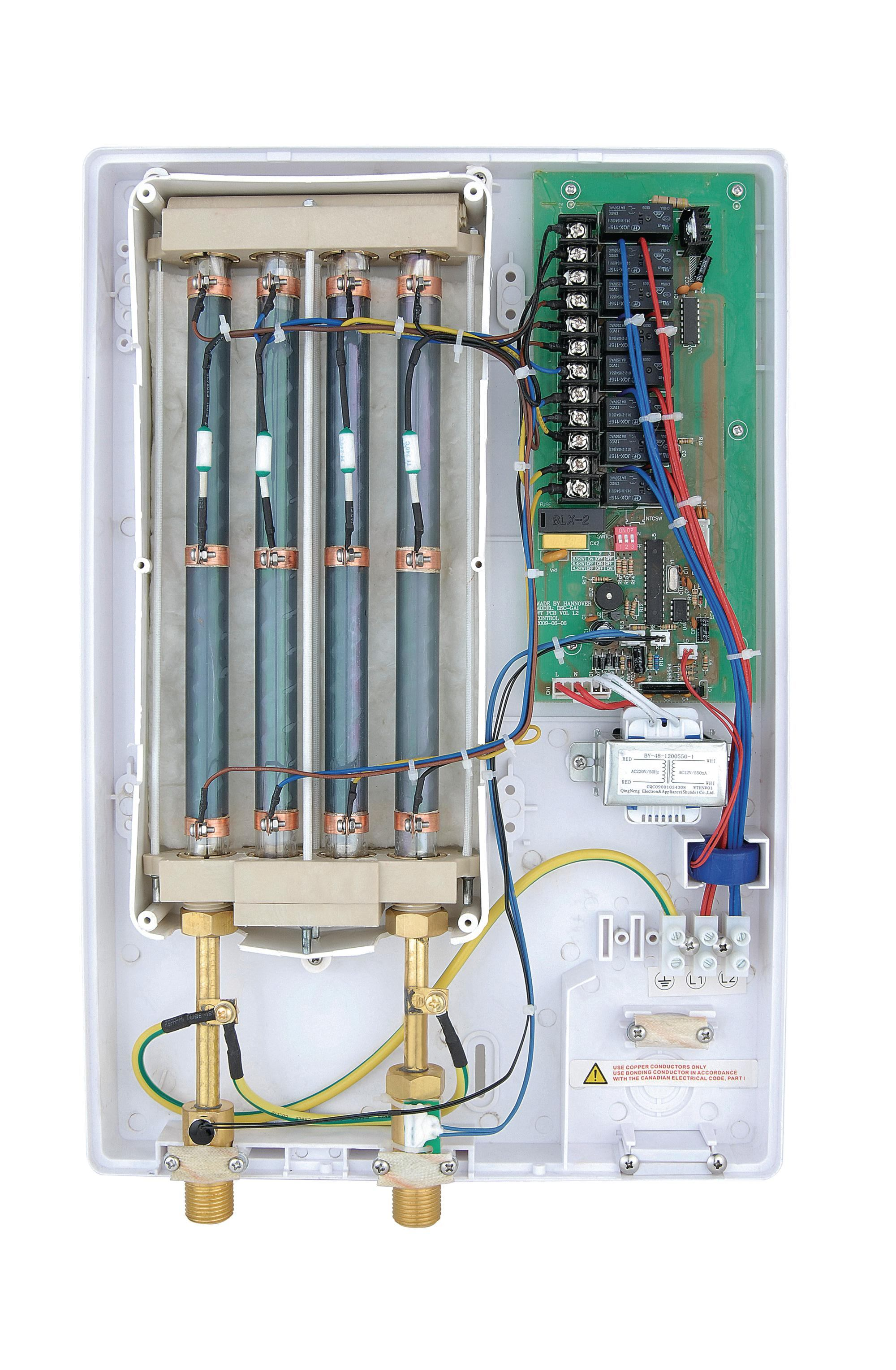 Quartz Tube Tankless Water Heater From American Hometec