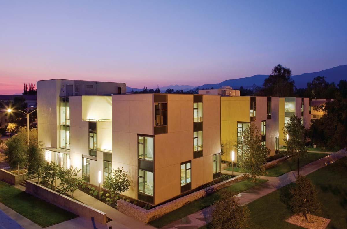 Claremont Mckenna College Residence Hall Claremont Calif