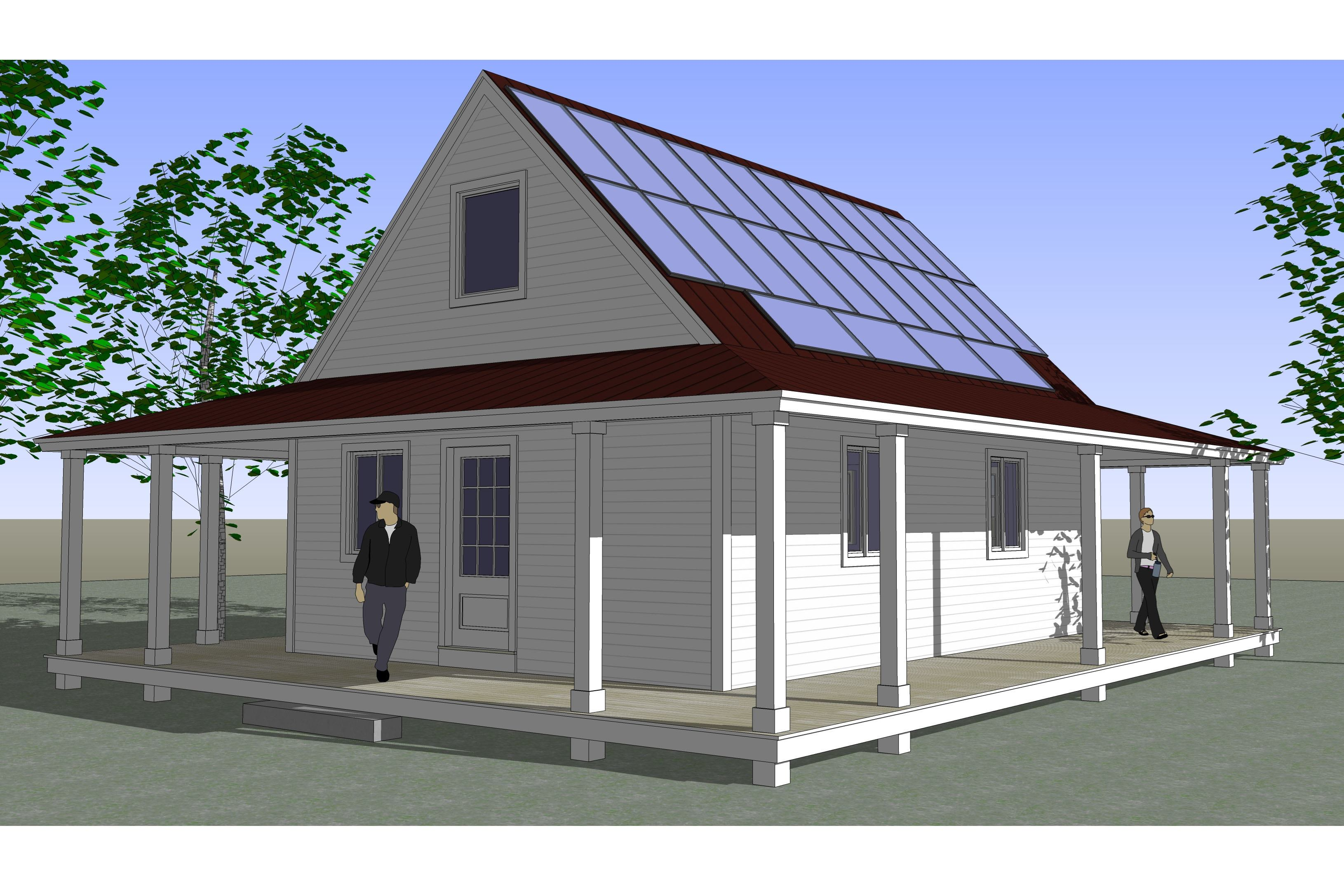 Affordable net zero energy kit homes hit the market for Zero net energy home