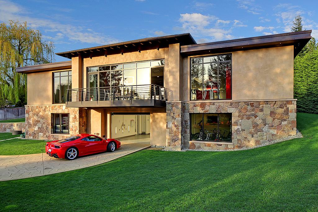 Five Design Ideas To Help Conceal A Garage Builder Magazine - House design with garage underneath