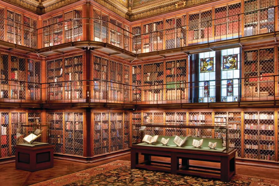 Morgan Library Amp Museum Mckim Building Architect Magazine Preservation Cultural Projects