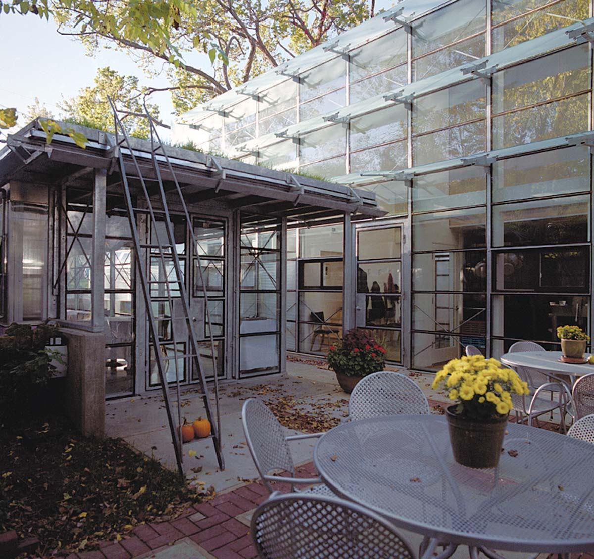 Modern speakeasy lawrence kan residential architect for Residential architect design awards