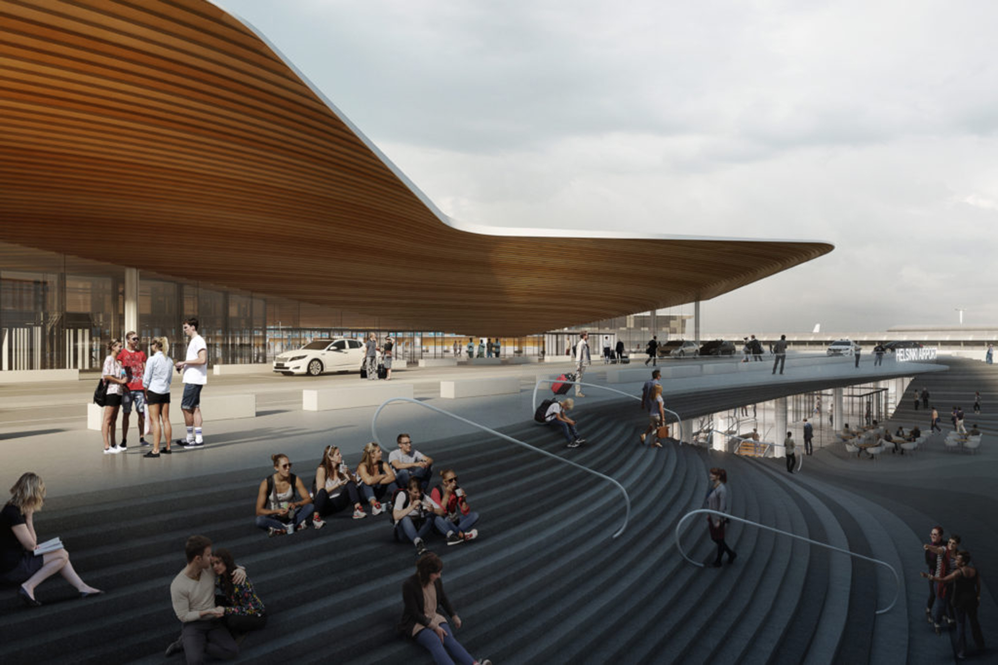 Helsinki Airport Terminal 2 Expansion And Renovation