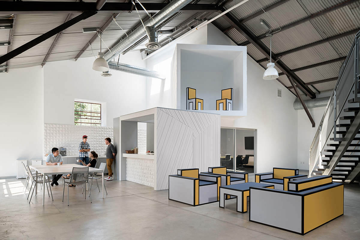 Hungry Man Productions Headquarters Architect Magazine Freelandbuck Los Angeles Ca Office