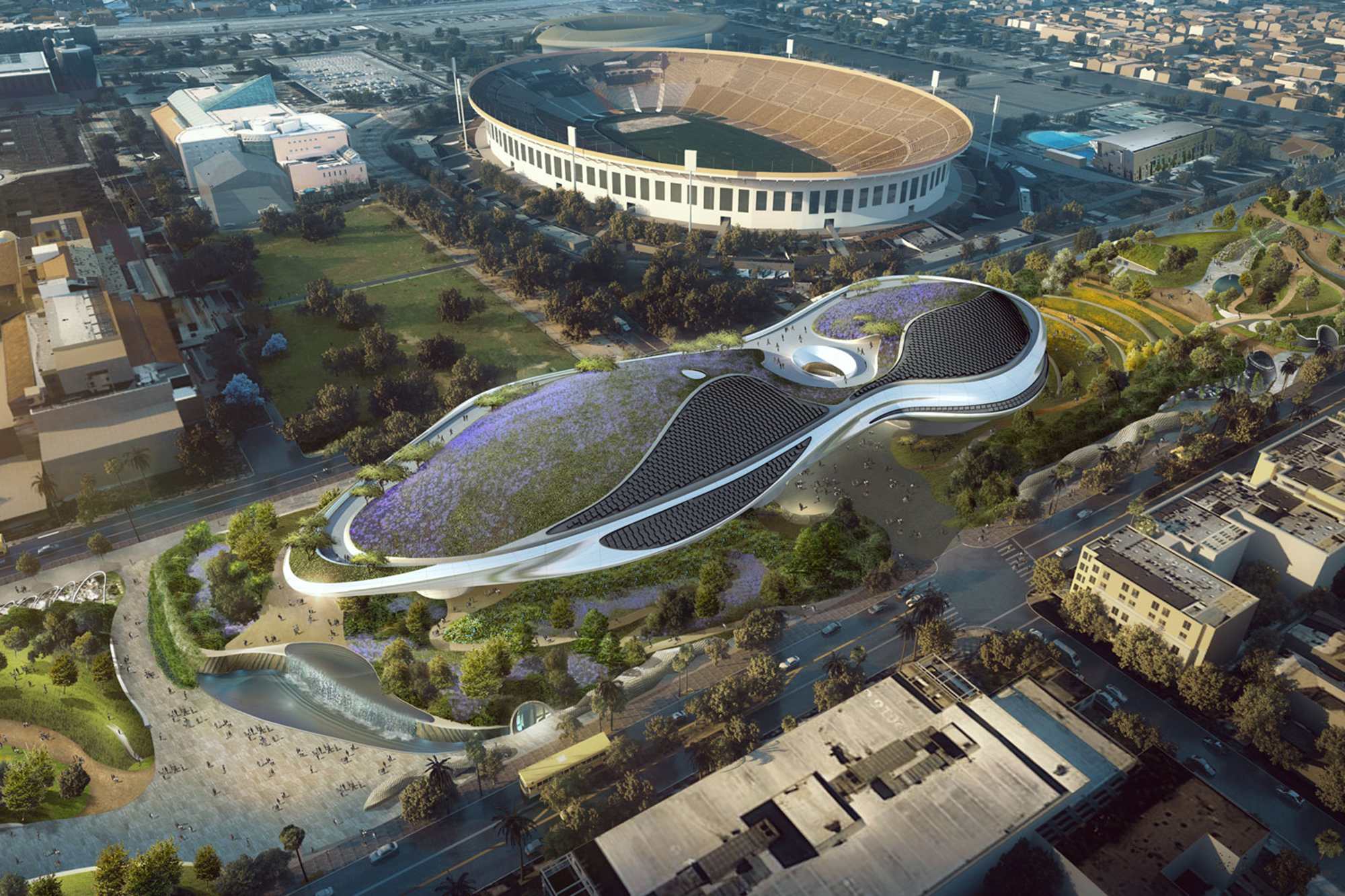 Lucas museum of narrative art los angeles architect for Star wars museum california