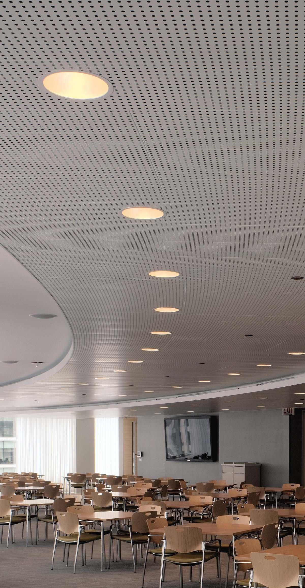 Libretto Gridless Metal Ceiling System From Usg