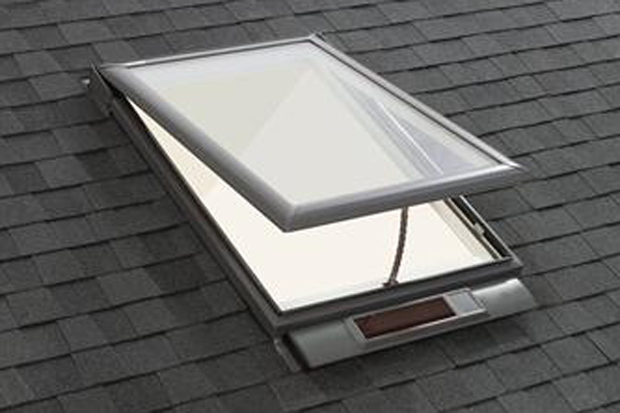 Solar powered wireless skylight by velux prosales online for Velux solar skylight tax credit