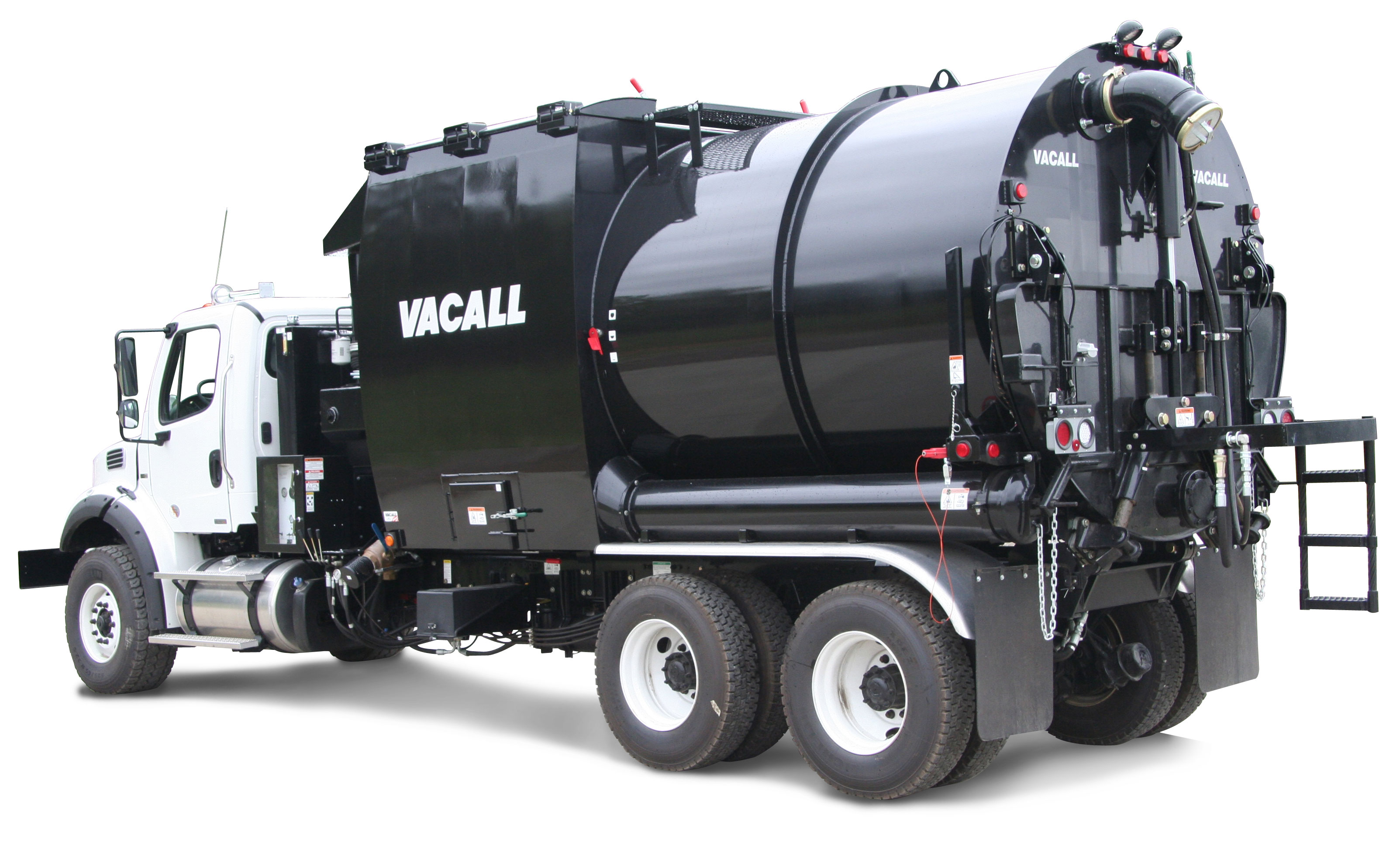 Vacuum Truck With Vacuum And Filtration System Public