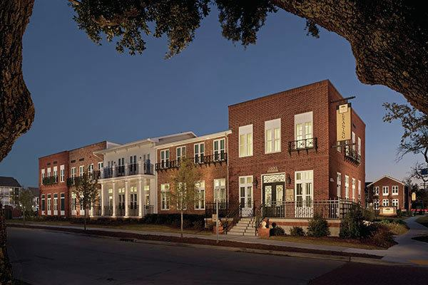 Columbia parc at bayou district new orleans residential for Metairie architects