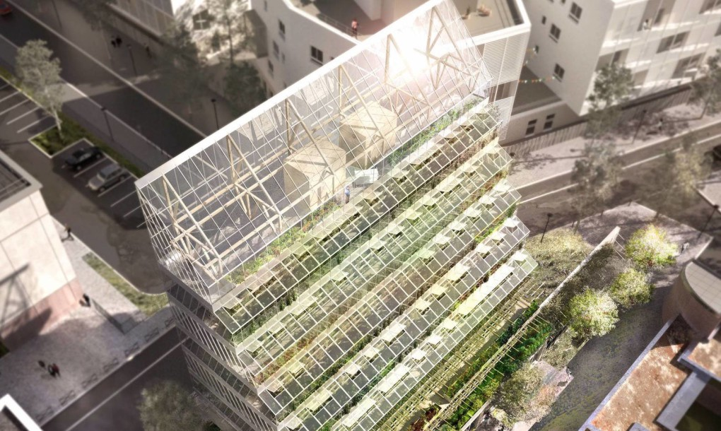 An Urban Farm Tower In France Ecobuilding Pulse Magazine