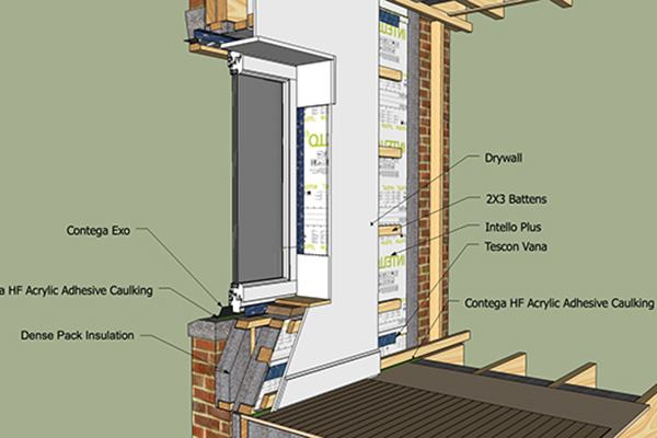 Details For Foam Free Superinsulated Construction Jlc