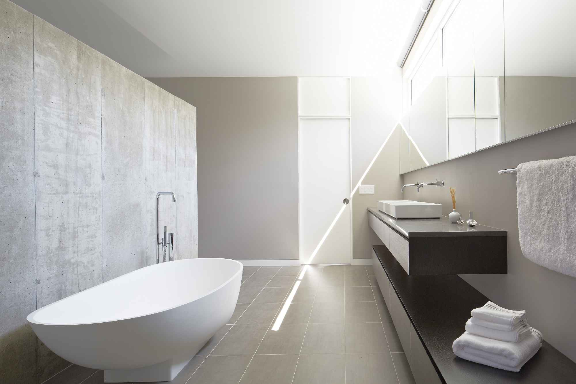 dwell bathroom ideas  design awards riverview house bathroom builder magazine