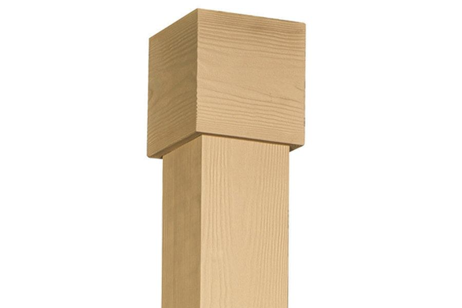 Fypon woodgrain structural columns professional deck for Fypon column