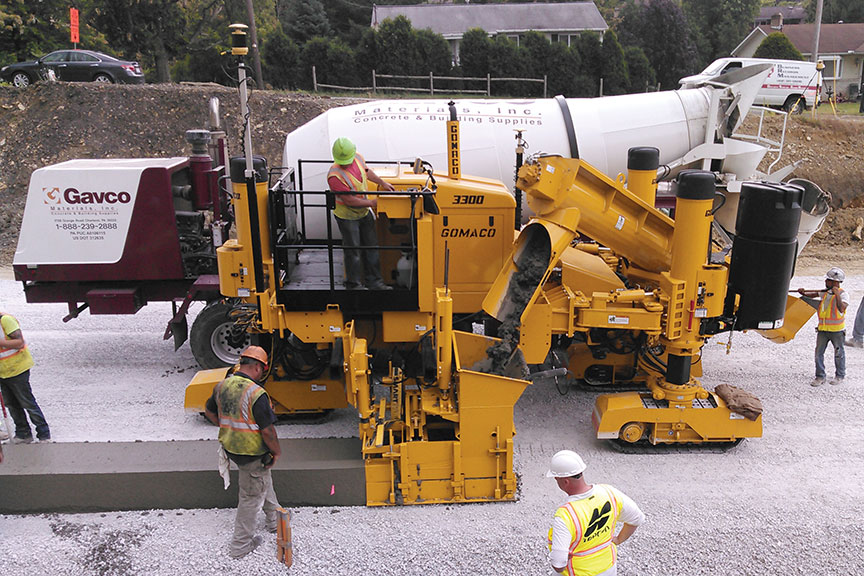 Right Hand Slipform Paving Concrete Construction Magazine