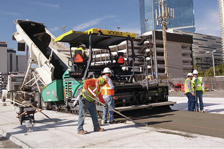 Roller Compacted Concrete Mix Designs : Roller compacted concrete at world of