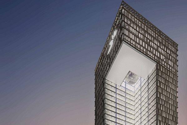 Som to design mashreq bank headquarters in dubai for Bank designs architecture