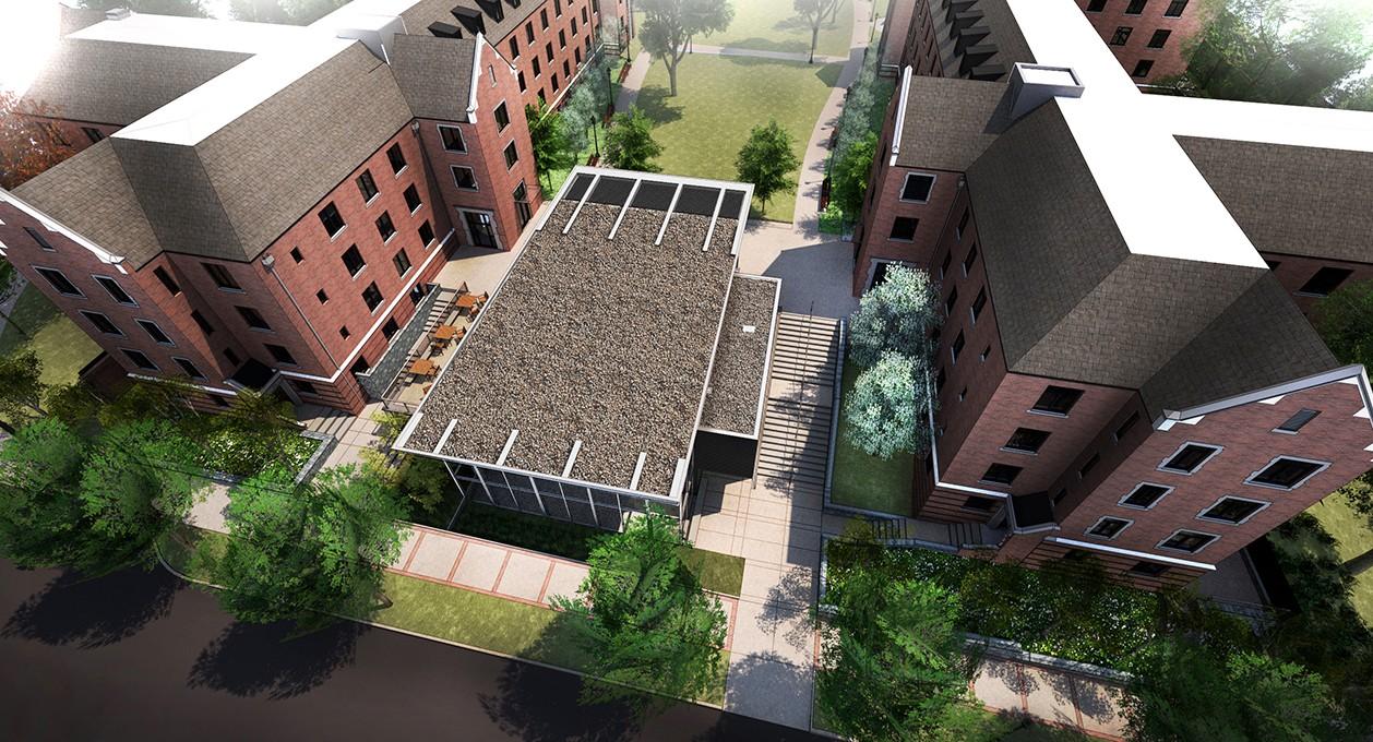 Glenn Towers Residence Halls Renovation Residential