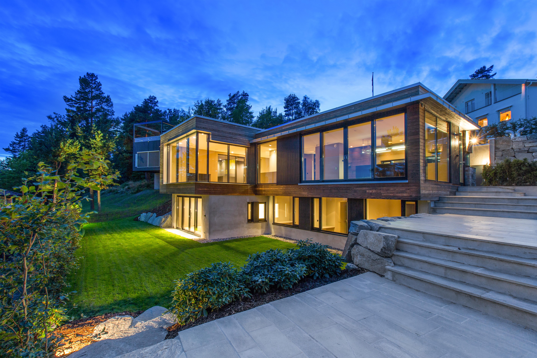 Villa Melkeveien Wrapped In Kebony Architect Magazine