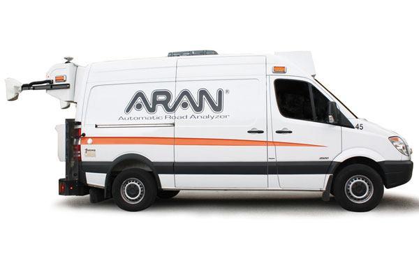 Fugro Roadware Aran Automatic Road Analyzer Public Works
