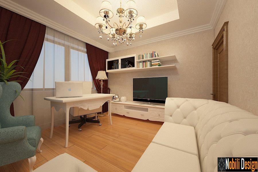 Interior Design Of A New Classic Living Room