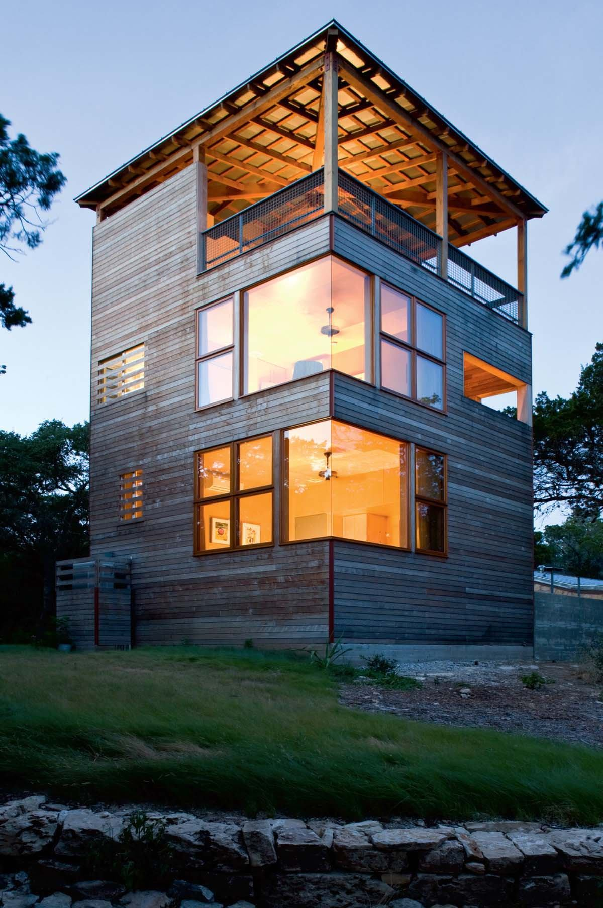 Tower House Leander Texas Residential Architect Outbuildings Architects Architecture