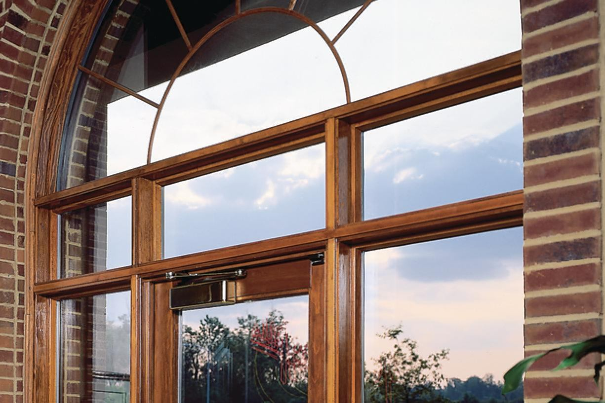 Wood Clad Windows : Pella commercial aluminum clad wood fixed frames