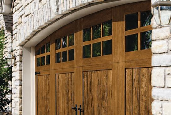 SteelPolymer Garage Doors With Realistic Wood Look JLC