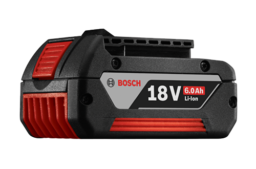bosch 6 0 ah 18 volt batteries tools of the trade cordless tools bosch power tools. Black Bedroom Furniture Sets. Home Design Ideas