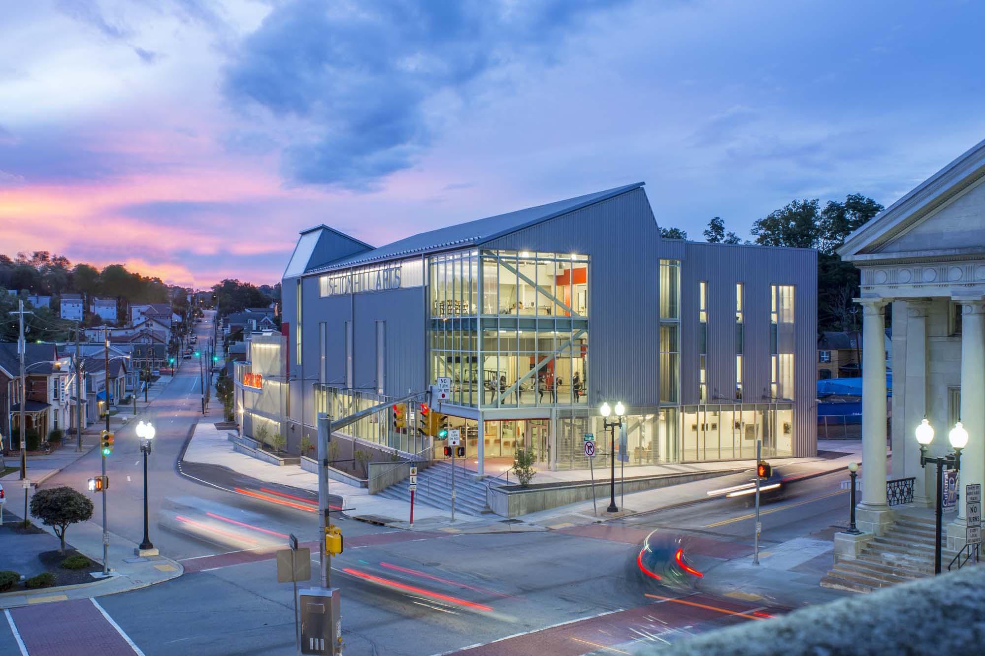 seton hill arts center architect magazine designlab