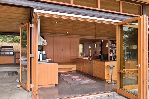 Room Study Outdoor Indoor Kitchens Custom Home Magazine